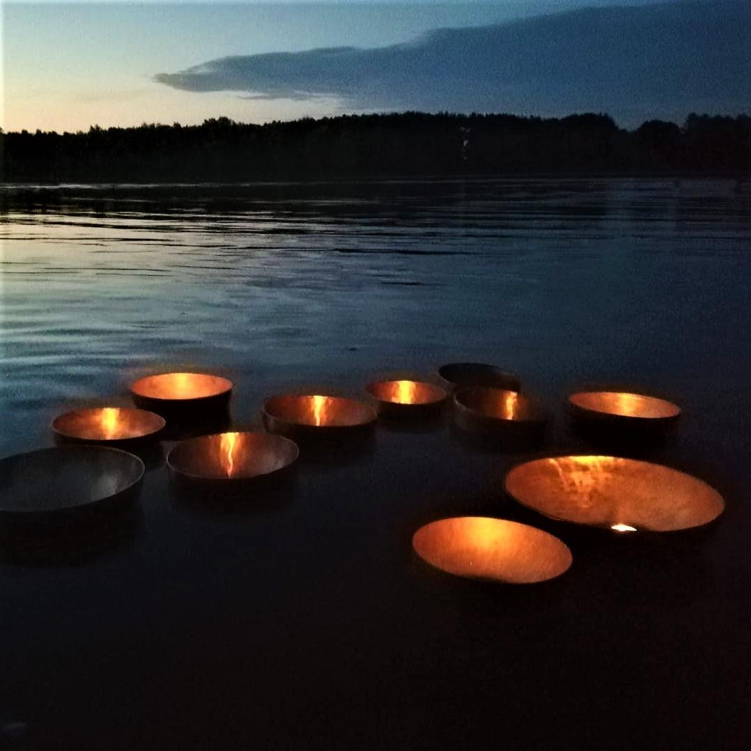 Klangschale See